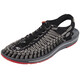 Keen Uneek Flat Sandals Men grey/black